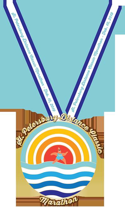 St. Petersburg Marathon Medal