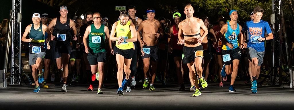 St. Petersburg Marathon Start LIne